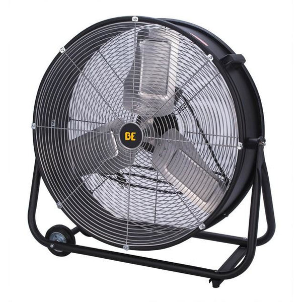 "BE Pressure Drum Fan, 24"" Portable"