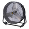 "BE Pressure Drum Fan, 24"" Portable-Fans-Tool Factory"