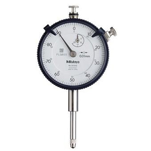 Mitutoyo Dial Indicator Series 2 20mm x 0.01mm with Flat Back-Mitutoyo-Tool Factory