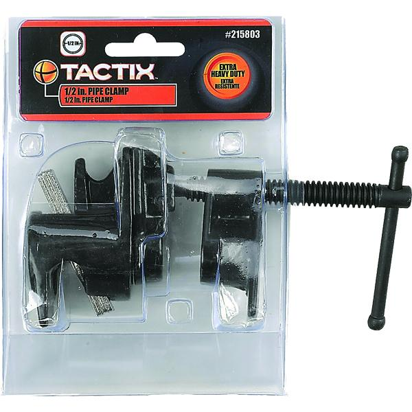 Tactix Clamp Pipe 1/2In | Vices & Clamps - Pipe-Hand Tools-Tool Factory