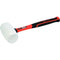 Tactix Mallet Rubber 65Mm White Fiberglass | Striking Tools - Rubber Mallets-Hand Tools-Tool Factory
