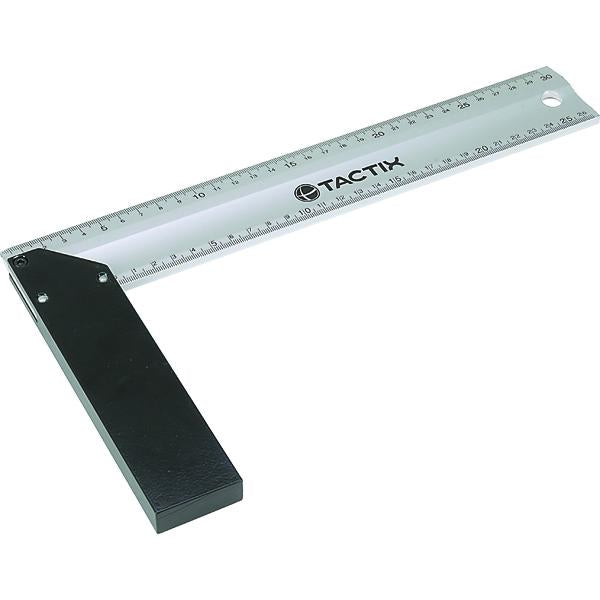Tactix Rule Corner 300 X 165Mm | Measuring Tools - Tapes & Rules-Hand Tools-Tool Factory