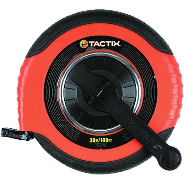 Tactix -Tape Long W/ Soft Handle 33In/10M X 15Mm | Measuring Tools - Tapes & Rules-Hand Tools-Tool Factory