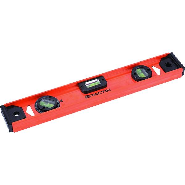 Tactix Level 16In/400Mm I Style | Measuring Tools - Levels & Protractors-Hand Tools-Tool Factory