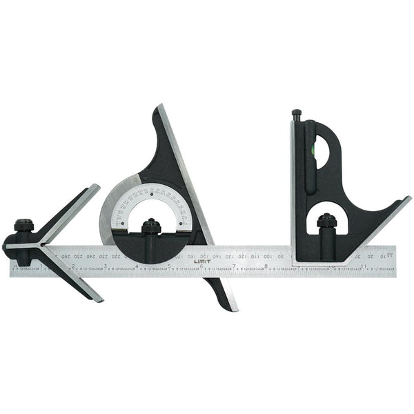 Limit Combination Square Set Open Type - 300Mm | Rules & Squares - Adjustable Squares