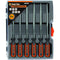 Tactix 140Mm Needle File Set 6Pc | Cutting Tools - Files