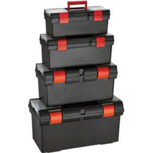 Plastic Toolbox 4 Pack (16, 18, 20 & 22.5In)** | Tool Boxes-Tool Storage-Tool Factory