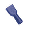 Blue Female Insulated Push-On Spade Terminal | Auto Crimp Terminals - Push-On Terminals