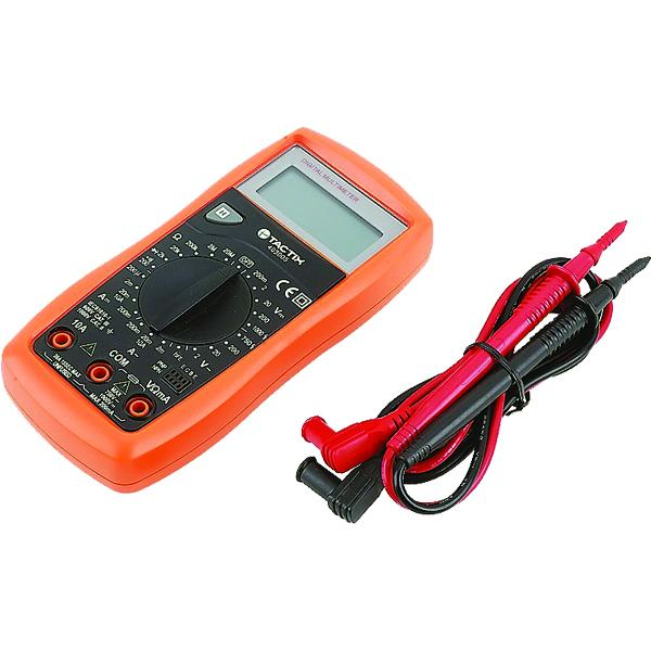 Tactix Digital Multi-Function Multimeter Ac750V | Multimeters-Electric Testing & Inspection-Tool Factory