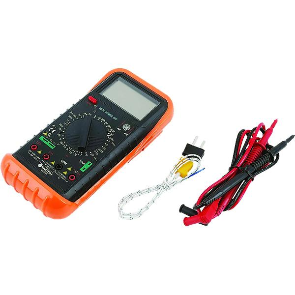 Tactix Digital Multi-Function Multimeter Ac1000V | Multimeters