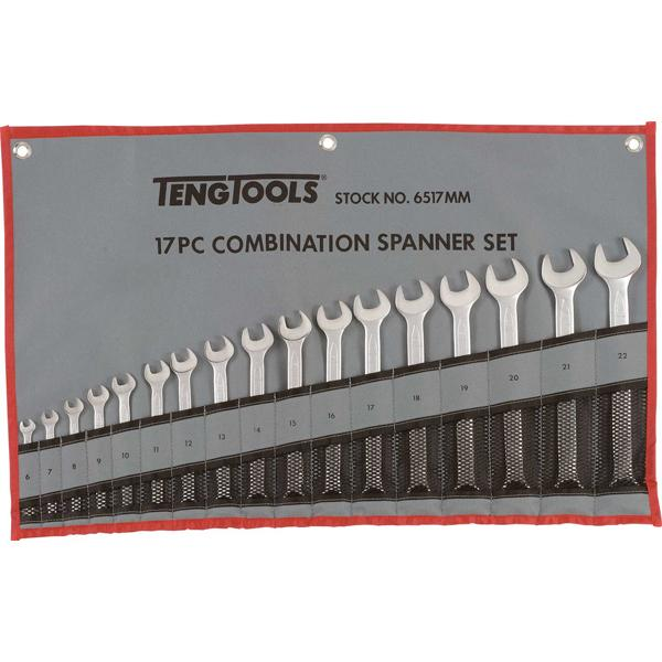 17Pc Roe Combination Spanner Set (6-22Mm) | Wrenches & Spanners - Sets