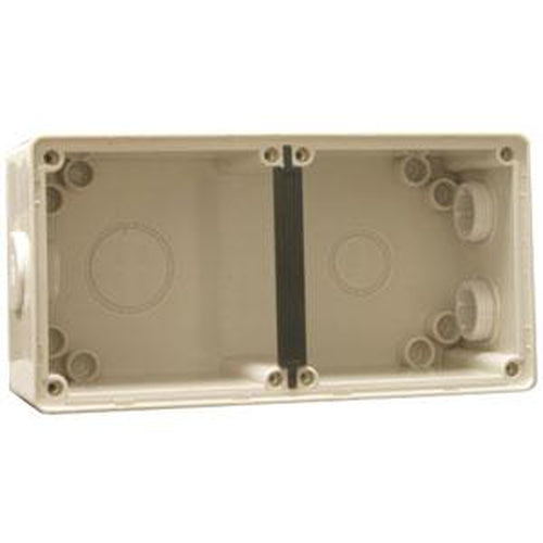 2 Gang Enclosure Base 197(L) X 98(W) X 61(D) Mm | Plugs & Sockets - Mounting Bases