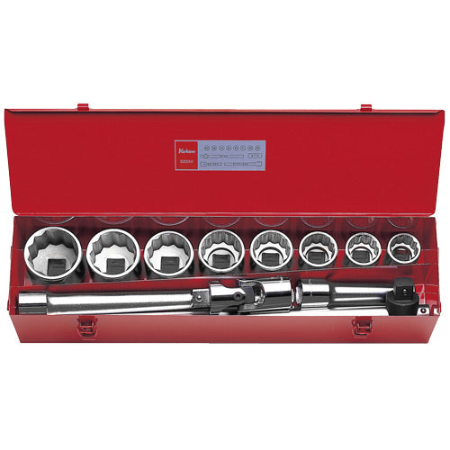 "Koken 1"" Dr Socket Set - 12pc 1.7/16""-2.1/2""-Sockets & Accessories-Tool Factory"