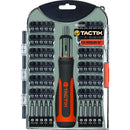 Tactix 71Pc Ratchet Driver & Bits Set | Bits & Drivers - Sets-Hand Tools-Tool Factory