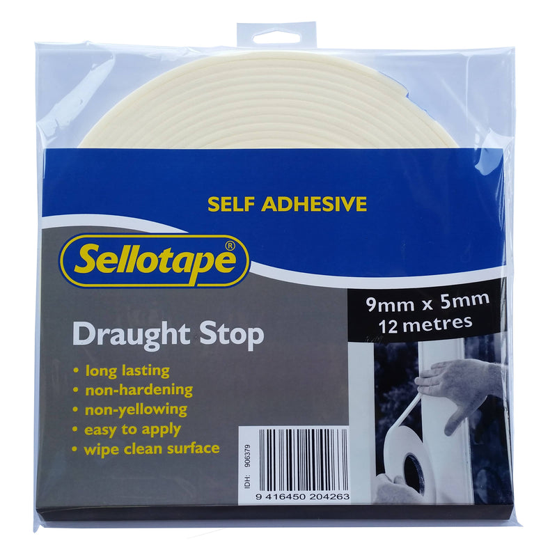 Sellotape 5500 Draught Stop 5mmx9mmx12m-Tapes-Tool Factory