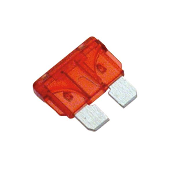 Champion Af 10Amp Standard Blade Fuse (Red) -10Pk | Auto Fuses - Blade-Automotive & Electrical Accessories-Tool Factory