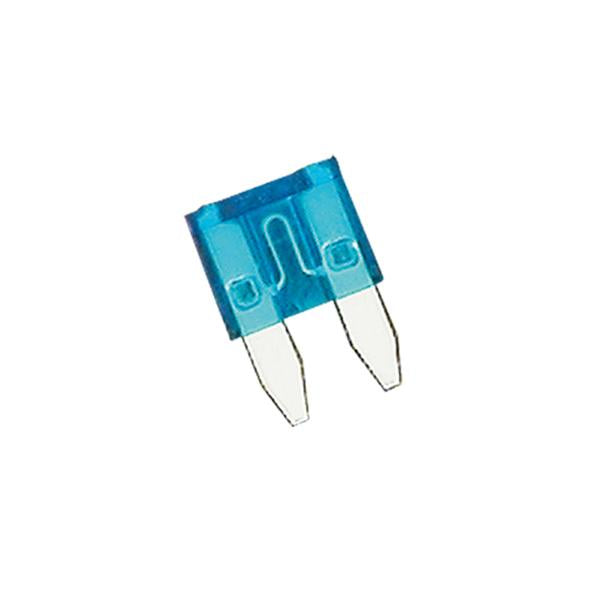 Champion 15Amp Mini Blade Fuse (Blue) -15Pk | Auto Fuses - Mini Blade-Automotive & Electrical Accessories-Tool Factory