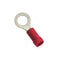 1/4In / 6.3Mm Red Ring Terminal-100Pk | Auto Crimp Terminals - Ring