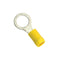 Champion 3/8In / 10Mm Yellow Ring Terminal -5Pk | Auto Crimp Terminals - Spade Terminals