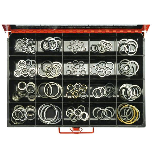 173Pc Bonded Seal (Dowty)  Washer Assortment | Master Kits - Washers