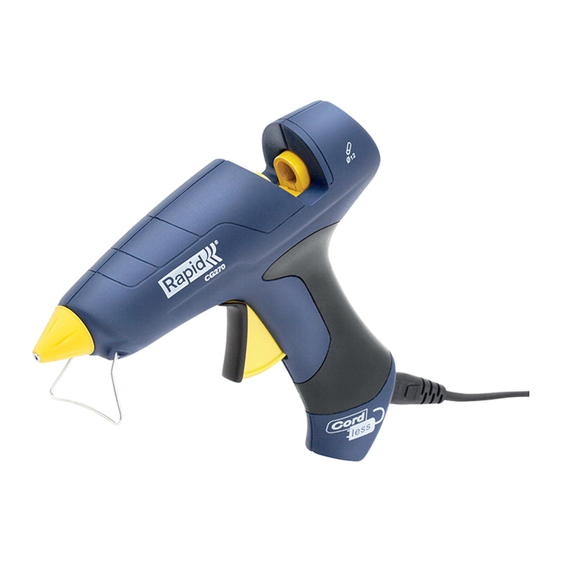 Rapid CG270 Cordless Glue Gun 250W D12mm 350g/hr-Adhesives - Glues-Tool Factory