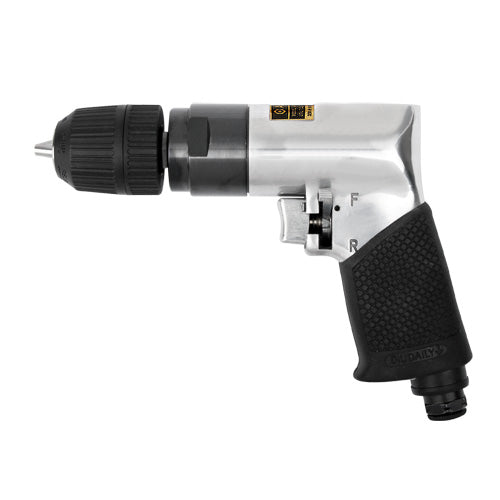 "AmPro 3/8"" Air Drill (Reversible) 3/8"" with Keyless Chuck-Air Tools-Tool Factory"