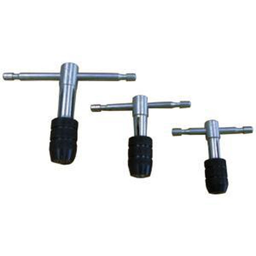 Groz Tap Wrench Set - T Handle Type (Set Of 3) | Threading/Tap & Die - Sets-Engineering Tools-Tool Factory