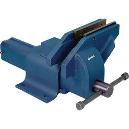 Groz 150Mm / 6In Offset Steel Vice | Vices & Clamps - Vices - Bench