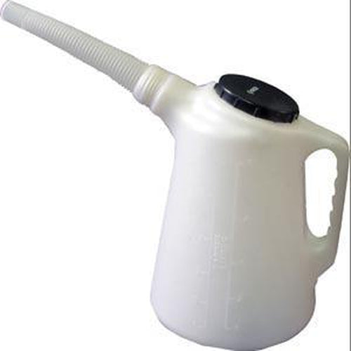 Groz Flex Spout Measurer - 5 Ltr | Oiling Equipment - Oil Measures And Funnels-Lubrication Equipment-Tool Factory