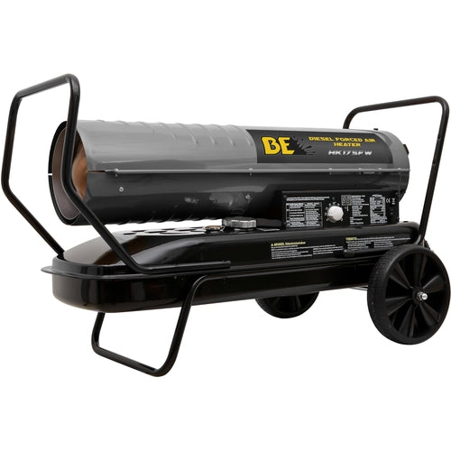 BE Pressure 175000 BTU Diesel Forced Air Heater-Heaters-Tool Factory