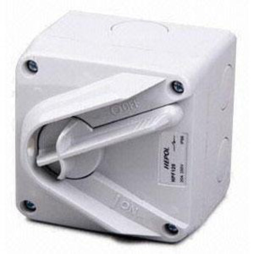 20A 1 Pole Mini Isolator Ip66** | Plugs & Sockets - Isolating Switches