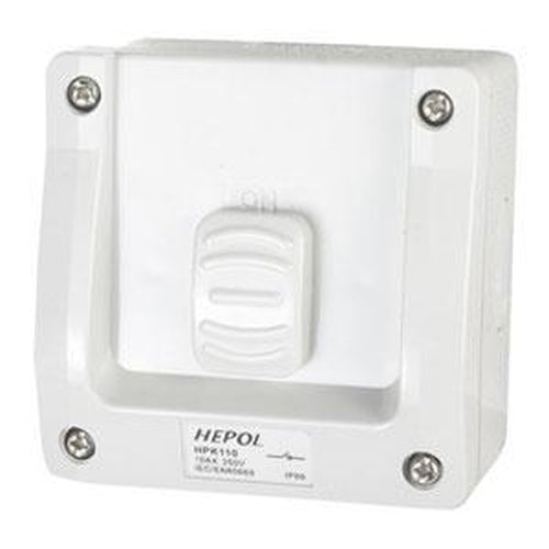 10A Weatherproof 1 Gang Surface Switch Ip66** | Plugs & Sockets - Surface Switches-Automotive & Electrical Accessories-Tool Factory