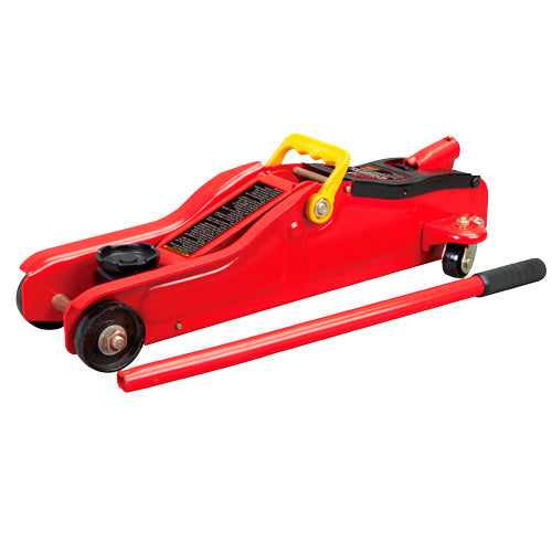 Torin - Big Red Trolley Jack Low Profile 2 Ton in Case-Workshop Equipment-Tool Factory