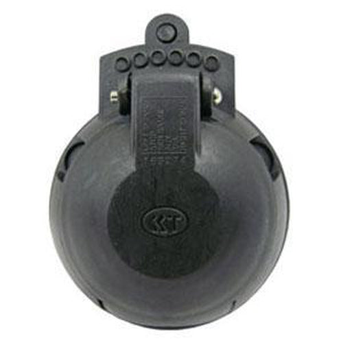 Kt 7-Pin Large Round Trailer Socket** | Trailer Plugs-Automotive & Electrical Accessories-Tool Factory