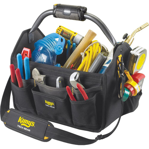 Kuny'S Tech Gear Led Lighted 15In Open Top Tool Carrier | Tool Bags-Work Wear-Tool Factory