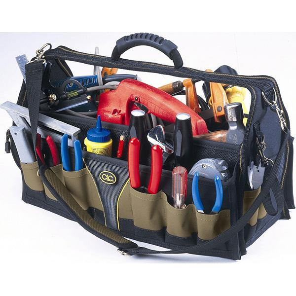 Kuny'S 24 Pocket 18In Soft Sided Carpenters'/ Tradesman Tool | Tool Bags-Work Wear-Tool Factory