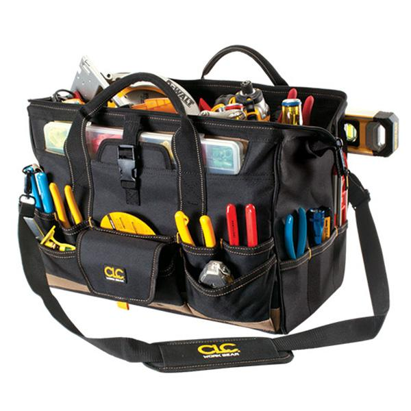 Kuny'S 18In Tote Bag With Top Plastic Tray** | Tool Bags-Work Wear-Tool Factory