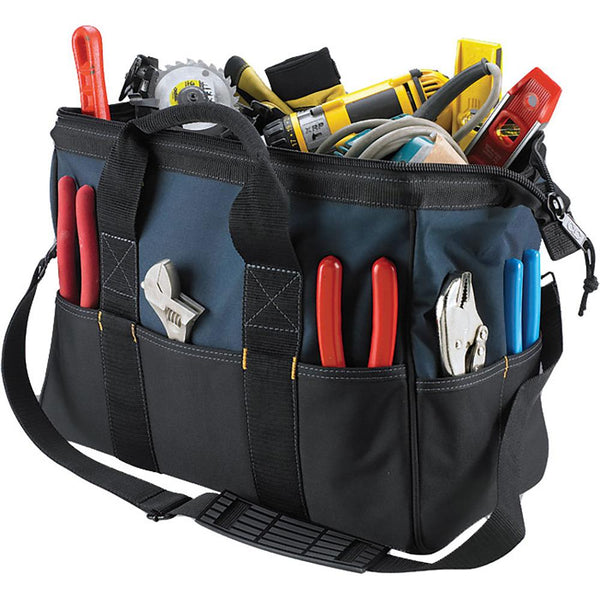 Kuny'S 22 Pocket 16In Bigmouth Tote Bag | Tool Bags-Work Wear-Tool Factory