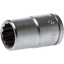 Teng 1/2In Dr. Socket 25/32In | Socketry - 1/2 Inch Drive-Hand Tools-Tool Factory