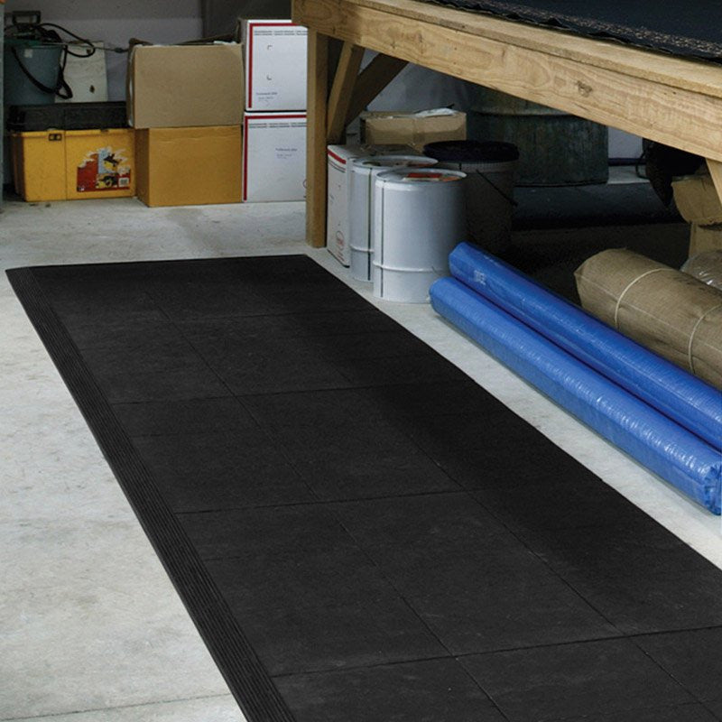 MultiZone Interlocking tile system-Anti Fatigue / Slip Resistent Mats-Tool Factory