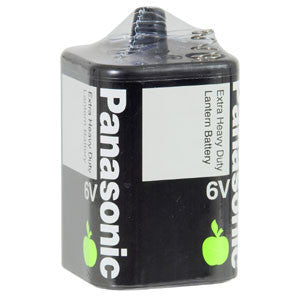 Panasonic 6V Battery Extra Heavy Duty (1Pk)-Batteries-Tool Factory