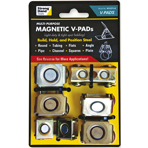 Strong Hand Magnetic V Pad Set 8kg (4pc)-Hand Tools-Tool Factory