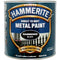 Hammerite Direct to Rust Metal Paint Hammered Black 2.5Litre-Metal Protection & Paint-Tool Factory