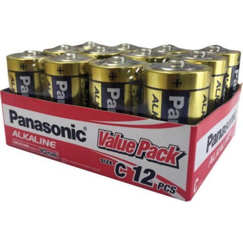 Panasonic C Battery Alkaline (12Pk)