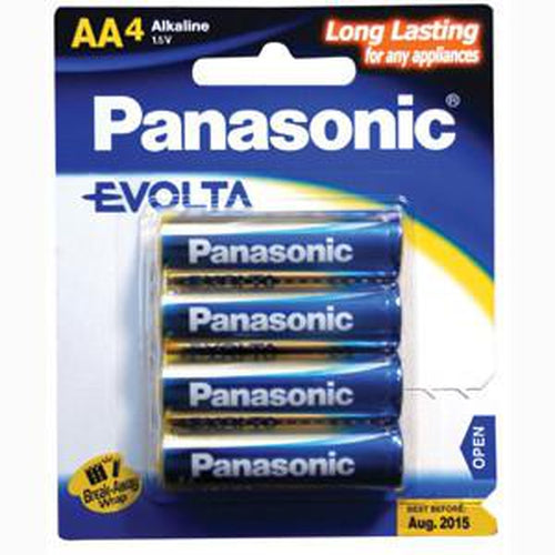 Panasonic Aa Battery Evolta Alkaline (4Pk)