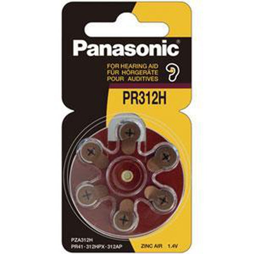 Panasonic 1.4V Pr41 Zinc Air Hearing Aid Battery | Specialty-Batteries-Tool Factory