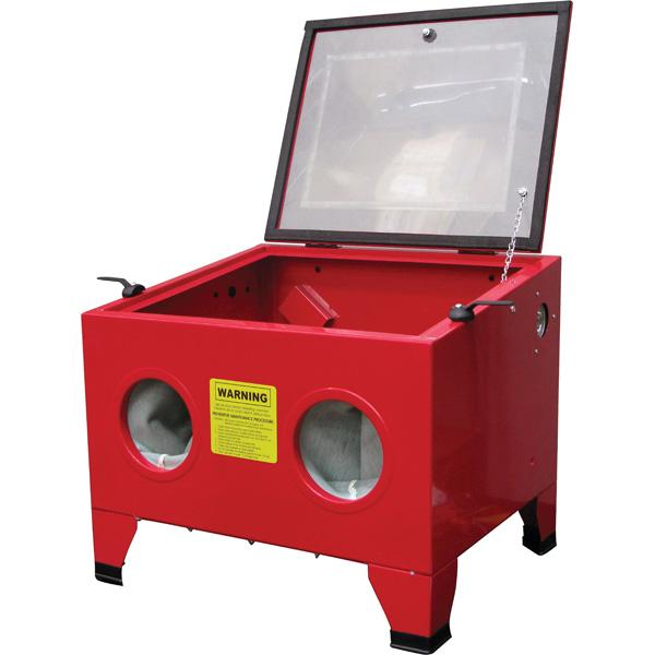 Proequip Bench Top Sand Blasting Cabinet - Top Door | Sand Blasting-Workshop Equipment-Tool Factory