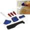 Proequip 8Pc Caulking Tool Kit | Masonry & Painting - Caulking Guns-Hand Tools-Tool Factory