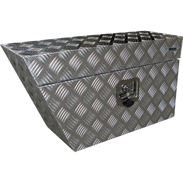 Aluminium Echelon Underbody Box (Left Side) | Ute Tool Boxes-Tool Storage-Tool Factory