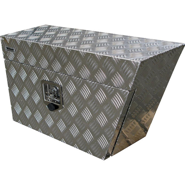 Aluminium Echelon Underbody Box (Right Side) | Ute Tool Boxes-Tool Storage-Tool Factory